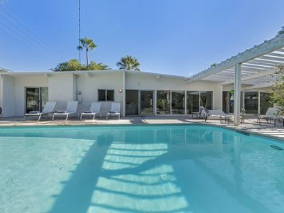 Photo for Mid-century Modern Architectural House With Large Pool In Central Palm Springs