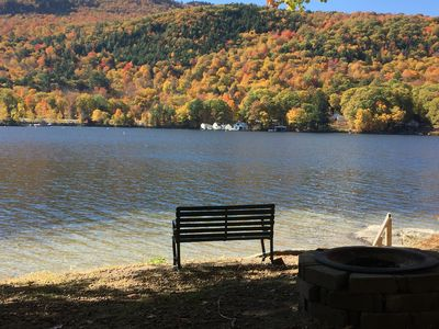 Photo for Lake Sunapee, Cozy,  Lakefront  - Affordable  - 4 Season - Private Cottage