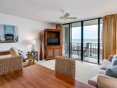 Clean, Private, Adorable Condo AND Contact-free Check-In! Direct Beach Front!!