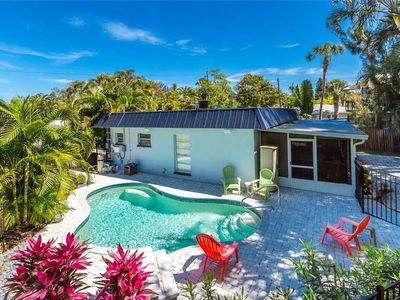 Photo for Crescent Street Manor, 3 Bedrooms, Private Pool, Sleeps 10, Walk to Beach