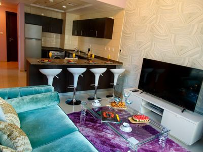 Photo for Elegant Apartment w/ Free WiFi, Fitness Center, Complex Pool & Media Amenities