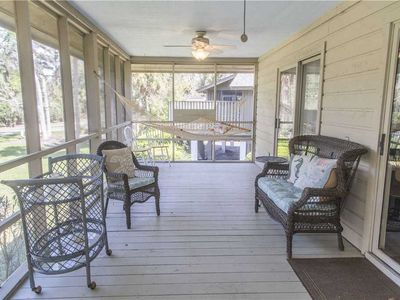 Photo for 16 Kingston Cove   UPDATED   Screened Porch w/ Hammock   Lagoon View   Complex Pool   Shipyard