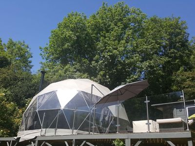 Photo for The Star Dome - Luxurious Star Gazing Retreat