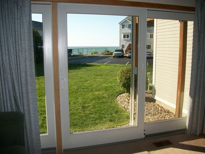 View of the Waters of Lake Erie out your 12 Foot Sliding Glass Doors