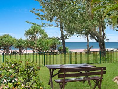 Photo for Shoreside Unit 1 - Absolute beachfront ground level unit in Tugun - Wi-Fi included
