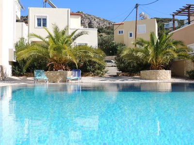 Photo for Good Value Villa W/ 2 Shared Pools. 400m From The Beach, Tavernas, and Shops..