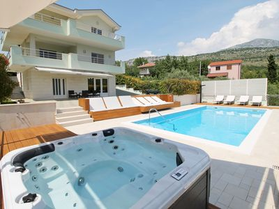 Photo for NEW! Luxury VILLA LOVRIC heated pool, jacuzzi, sauna, private tavern, 8 person