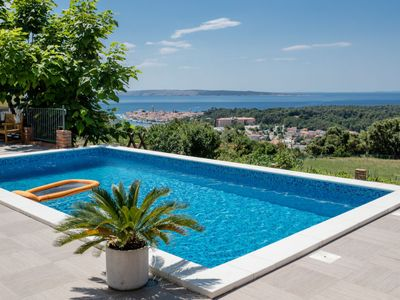 Photo for 2 bedroom Apartment, sleeps 5 in Mundanije with Pool, Air Con and WiFi