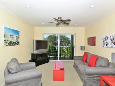 Photo for Kick back and relax in this renovated two bedroom condo with views of the gulf- great for families