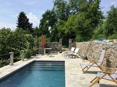 Photo for 2 exceptional houses with private pools and large outdoor areas