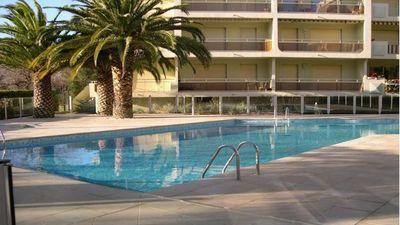 Photo for Apartment T3 - 6 people - Residence swimming pool - WiFi - City center - Sainte Maxime
