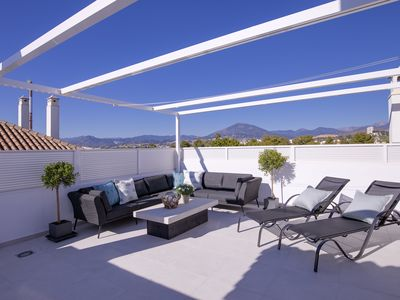 Photo for Fantastic elegant duplex penthouse with a large roof terrace!