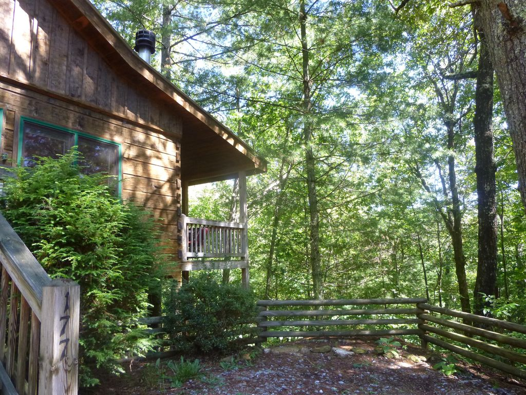 Pet friendly cabin near fishing hiking ellijay blue for Ellijay cabins for rent by owner