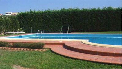 Photo for Private villa with private pool and jacuzzi, terrace and sea view