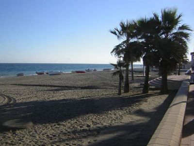 Photo for San luis de Sabinillas, coastal town apartment & lovely beach by Puerto Duquesa
