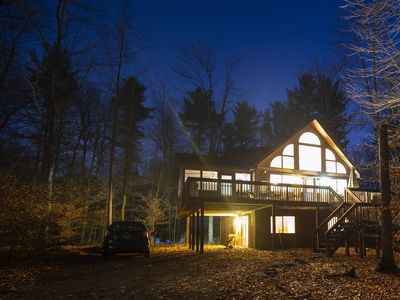 Photo for The Chalet on Overlook-Modern AC Easy Walk to 2 Beaches, Great for Families