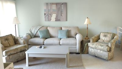 Photo for *NEW LISTING* 1st Fl Ocean Village Condo - Golf, tennis, pools and beach