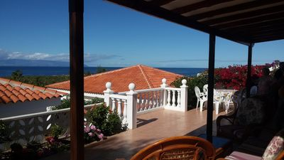 Photo for 3-bedroom Luxurious Bella Villa with magnificent sea views next to Callao beach