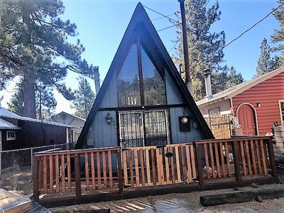 Photo for Welcome to Our Farmhouse - Charming A-Frame Cabin with WiFi!