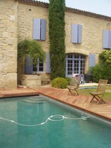 Photo for Charming house with garden and pool in the heart of a village 15 minutes from Nîmes