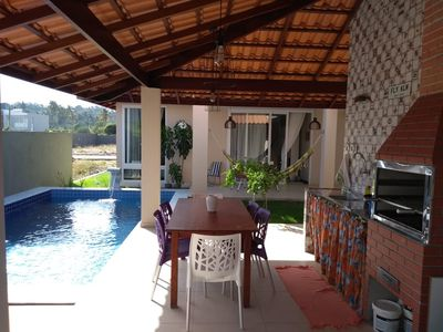 Photo for House 300 meters from the beach of Ipioca and the Hibiscus