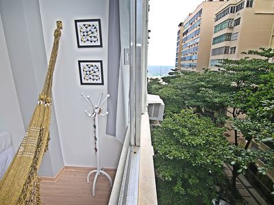 Photo for Large and renovated apartment on the block of Copacabana beach - U035