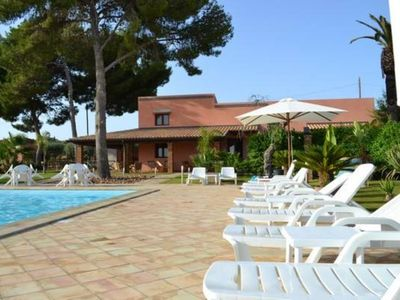 Photo for Sicily - Palma Nana Suite with a beautiful pool and outdoor jacuzzi - Casale Abate