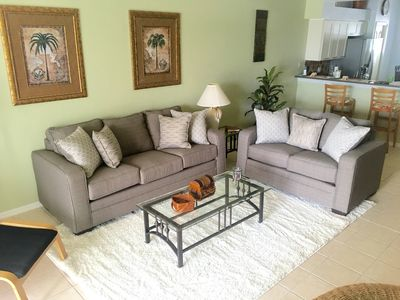 Comfortable elegance! Living room with Brand new furniture.