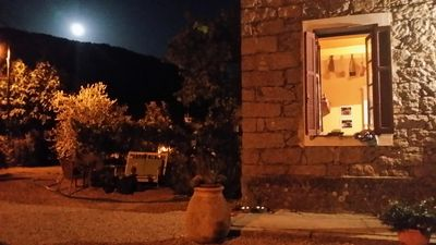 Photo for Large stone house immersed in the beautiful Corsican maquis.
