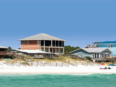 Photo for Dune Vista - Dune Allen Beach! 30A! Gulf Views! Private Pool! Steps to the Sand!
