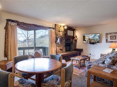 Photo for SE041 by Mountain Resorts ~ Charming Mountain Side Condo with Onsite Hot Tub!