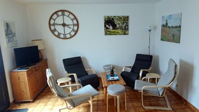 Photo for House with backyard 300 m from Lake Sainte-Croix