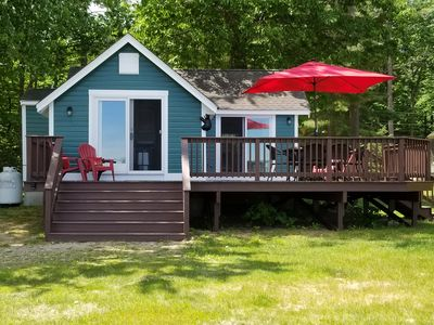 Photo for The Sweetest Cottage on Ossipee Lake!