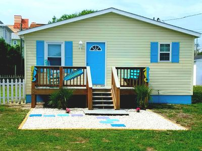 Beautifully remolded beach bungalow.