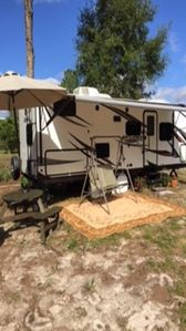 Photo for Beautiful serene country setting 1bedroom RV on 5 acres. 15 min from Mt. Dora