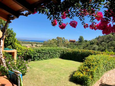 Photo for Panoramic small villa 800 meters from the sea