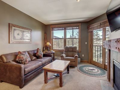 Photo for Slopeside Views Await you in the Springs at River Run! One Minute to the Slopes!