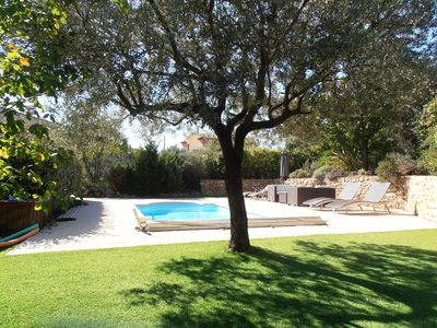 Photo for House for 6 persons with pool 2 steps from the village