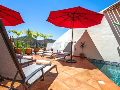 Photo for Old Vallarta Meets Modern Luxury at Villa Colibrí