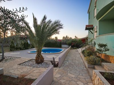 Photo for Oliva Turist Apartments 1 - 4 persons- 1 bedroom -wifi-pool-barbecue