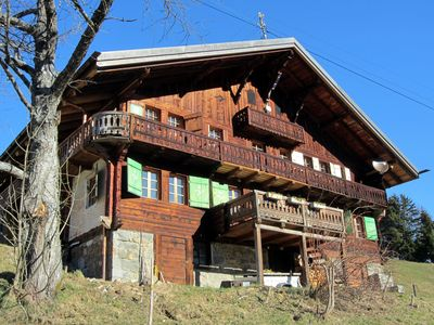 Photo for Fantastic chalet, summer and winter across the Dents du Midi, Portes du Soleil