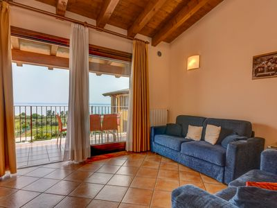 Photo for Holiday apartment Moniga del Garda for 1 - 4 persons - Holiday apartment