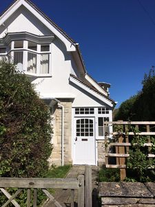 Photo for Spacious, elegant house in Swanage. Quiet location, beach few mins, big garden.