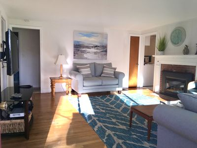 Photo for Breezy Vibes Cottage ~ Backyard Blissful ~ Walk to beaches & local attractions
