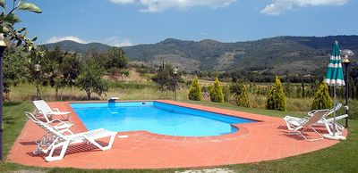 Photo for Independent Family Villa with 3 bedrooms, Part of an Organic Tuscan