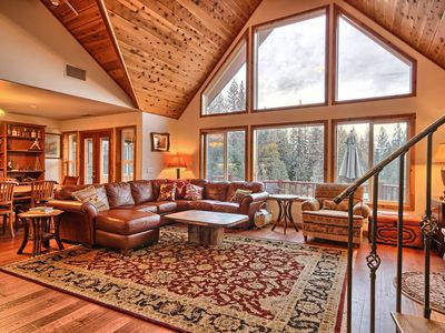 Photo for Shanks' lodge is the ultimate home in the woods for large groups.