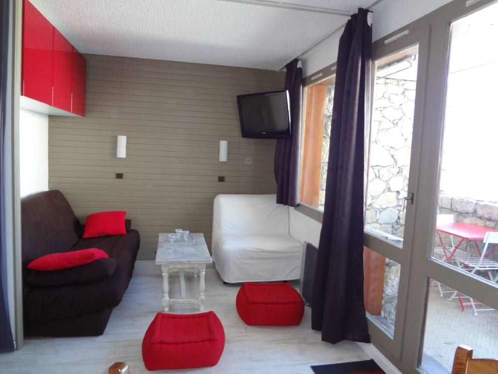 Belle plagne beryl appart 6 pers pied pistes enti rement for Chambre separee