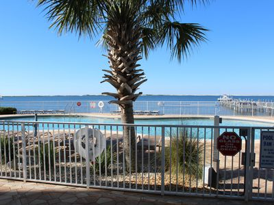 Photo for Beautifully Furnished Waterfront Luxury Condo- Many Amenities
