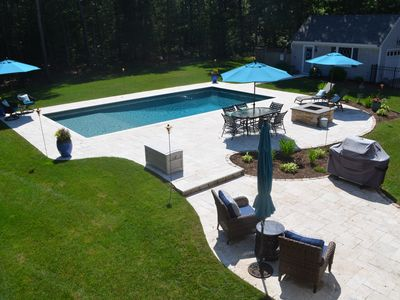 Photo for Cape Living with Luxurious Amenities and Heated Pool - Private Setting