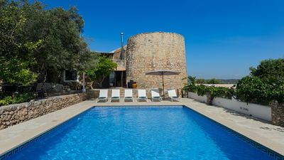 Photo for La Torre - A Unique Villa of Rural Architecture/Defence Tower (XVII or earlier) and Private Pool! - Free WiFi